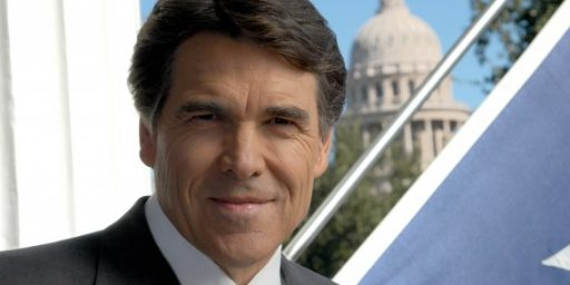 Rick Perry: Radical Libertarian? Theocrat? No, Just Another Big Government Conservative