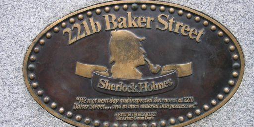 Virginia School District Bans Sherlock Holmes Book