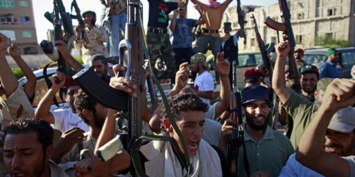 Libya Fight Reaches Tripoli