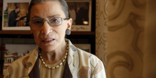 Ruth Bader Ginsburg Sends A Strong Signal That She's Not Going Anywhere