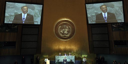 At U.N., Obama Says There Are No Shortcuts To Peace