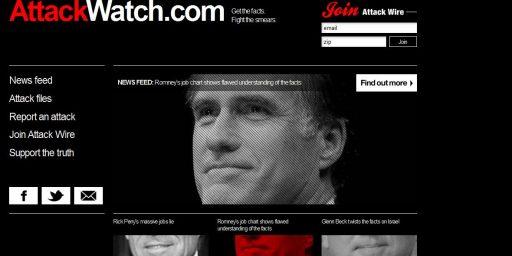 Attackwatch: It's Just Politics, Folks
