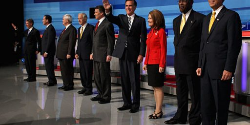 The Republican Debate Stage Is Going To Be Awfully Crowded