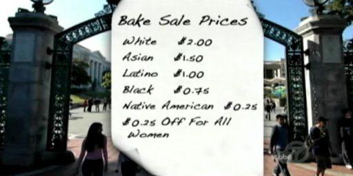 "Berkeley College Republicans Resurrect ""Diversity Bake Sale"" Scheme"