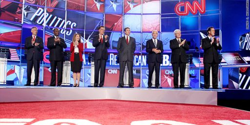 CNN/Tea Party Debate: Rick Perry Gets Hit From All Sides