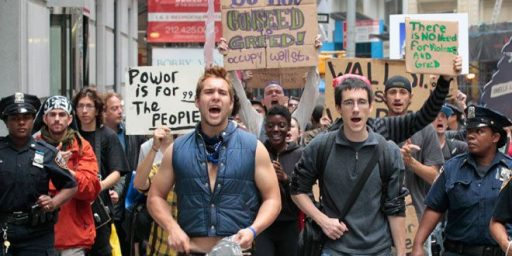 Occupy Wall Street Now Less Popular Than Tea Party Movement