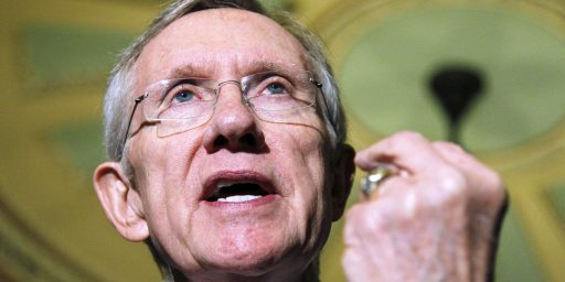 Reid Triggers Nuclear Option Lite
