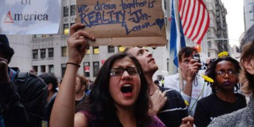 Public Opinion Souring On Occupy Wall Street