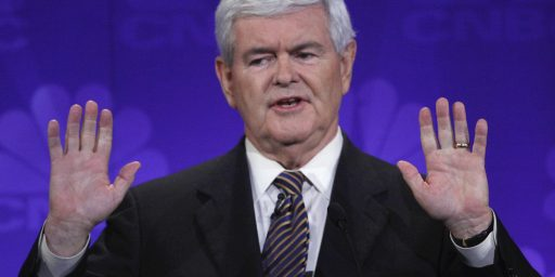 "Newt Gingrich Calls Palestinians An ""Invented People"""