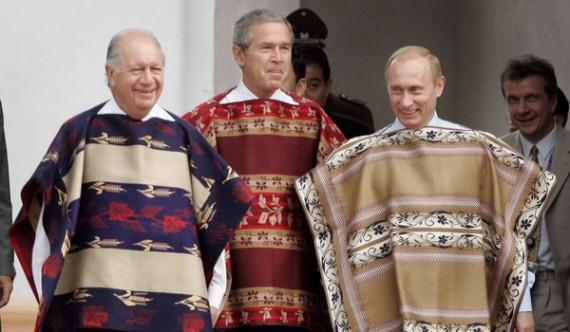 APEC-2004-Chile-Ponchos