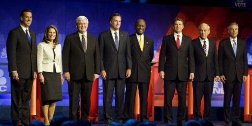 Foreign Policy Mostly Missing From Republican Race