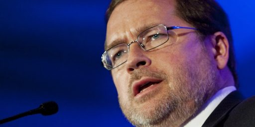 Blaming Grover Norquist