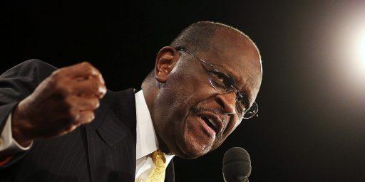 Herman Cain Plays The Race Card