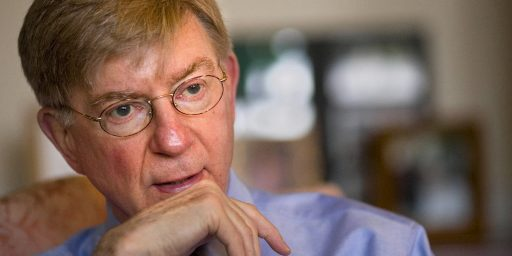 George Will's Less Than Lapidary Column