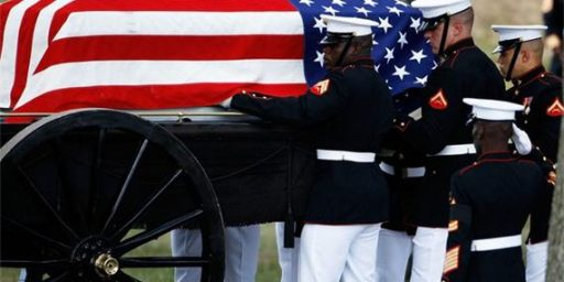 End Military Funeral Honors for Veterans?