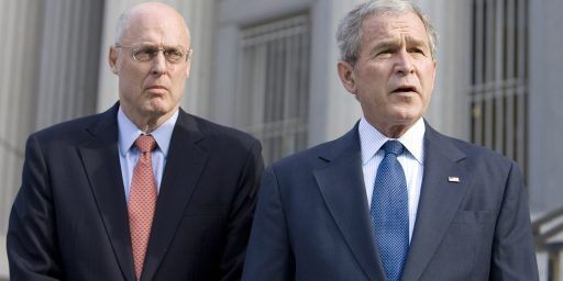 Hank Paulson, The Bush Treasury Department, And Crony Capitalism