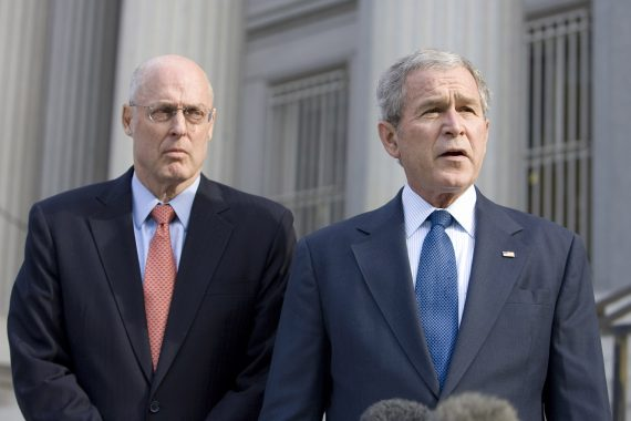 Hank Paulson, The Bush Treasury Department, And Crony Capitalism