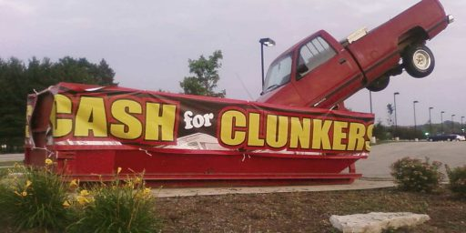 Cash For Clunkers Was A Boondoggle From The Start