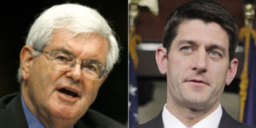 "Paul Ryan Blasts Gingrich On Leadership: ""This Is Not The 1990s"""