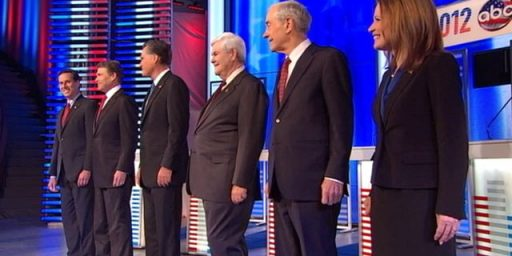 Gingrich Takes Fire At Iowa Debate, Romney Misfires
