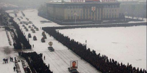 """North Korea's Bizarre Funeral For The """"Dear Leader"""""""