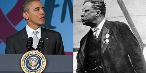 Barack Obama Tries To Channel Teddy Roosevelt