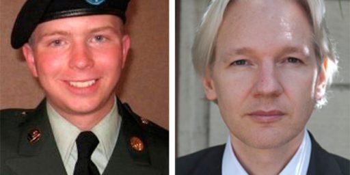 Direct Link Between Bradley Manning And Julian Assange Discovered?