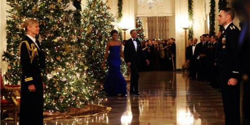 Obama Declares War On Christmas By Having Too Many Christmas Trees