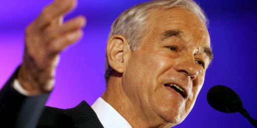 Ron Paul's Newsletter Problem