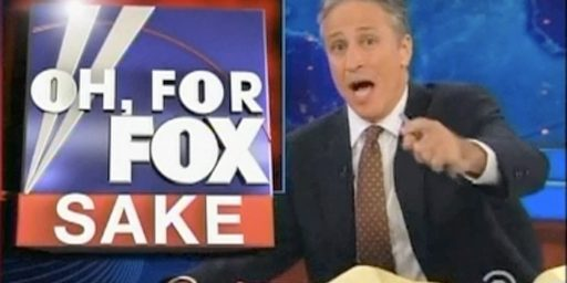 Jon Stewart Drawing More Viewers Than Fox News Channel