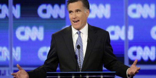 Mitt Romney's Latest Dumb Response On The Tax Return Question