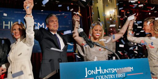 Sorry Jon Huntsman, Third Place Isn't Good Enough