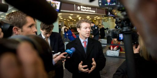 "Rand Paul: ""I Certainly Felt Like I Was Detained"""