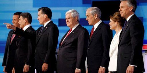 Weak Presidential Field. Again.