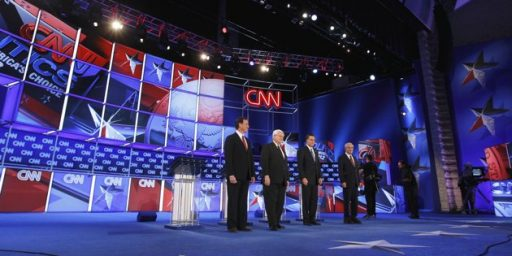 Romney Fights, Gingrich Falters In Final Florida Debate