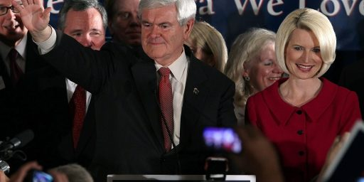 Newt Gingrich Wins South Carolina, Republican Race In (Temporary) Chaos