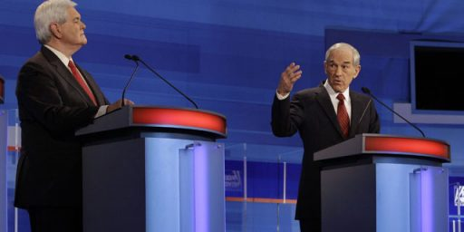 "Ron Paul's Phony ""Chickenhawk"" Attack On Newt Gingrich"