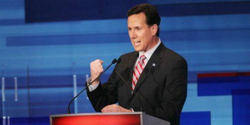 Rick Santorum's Disturbing Foreign Policy Vision