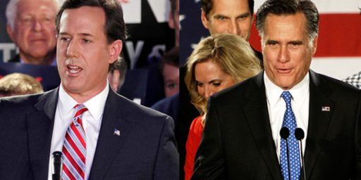 "Mitt Romney ""Wins"" Iowa By Eight Votes, Santorum A Very Close Second"