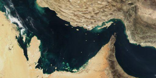 U.S. Warns Iran On Straits Of Hormuz