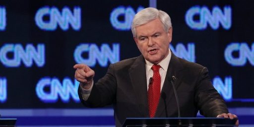 John King's Question To Newt Gingrich Was Fair, And Newt's Past Is Fair Game