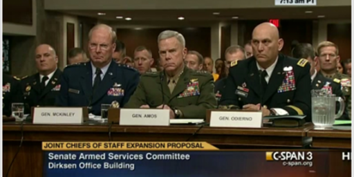 National Guard Gets Joint Chiefs of Staff Slot For No Apparent Reason
