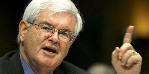 Gingrich May Lose His Sugar Daddy
