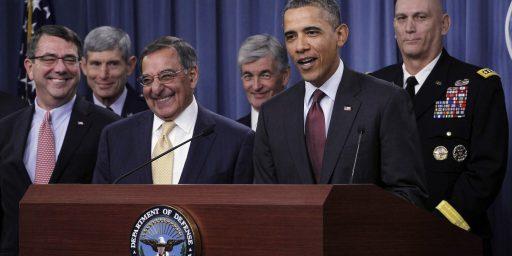 Obama's Pentagon 'Power Grab'