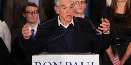 Last Night Was Ron Paul's High Point