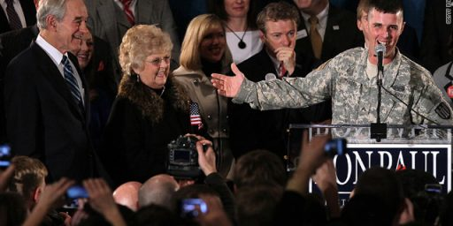 Ron Paul Supporter Likely Violated Military Regulations By Speaking At Rally