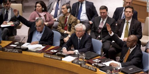 Russia, China Block U.N. Resolution To Curb Syrian Violence