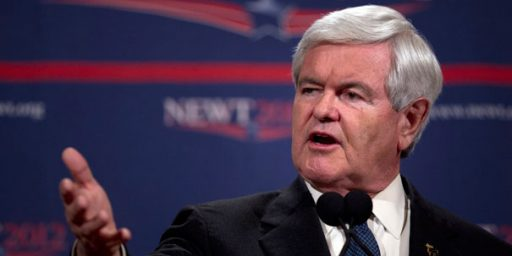 The Inevitable Newt Gingrich Meltdown Begins