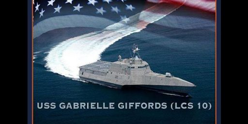 Decision To Name Ship After Gabrielle Giffords Engenders Controversy