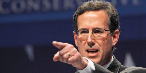 Social Science v. Santorum